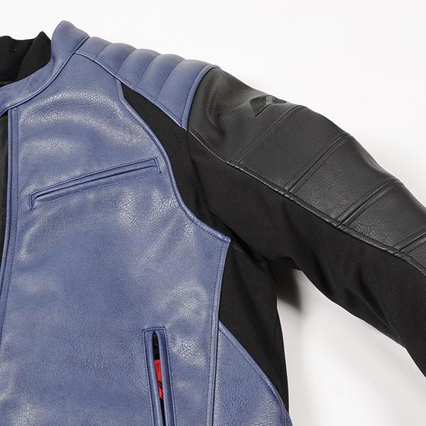 """""""脇と袖内側にはストレッチ生地を採用し、突っ張りを最大限に抑えます"""""""